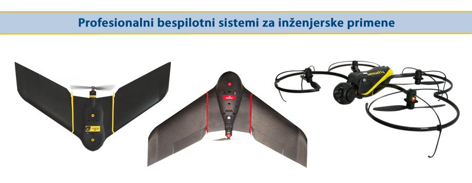 Profesionalni bespilotni sistemi za inženjerske primene