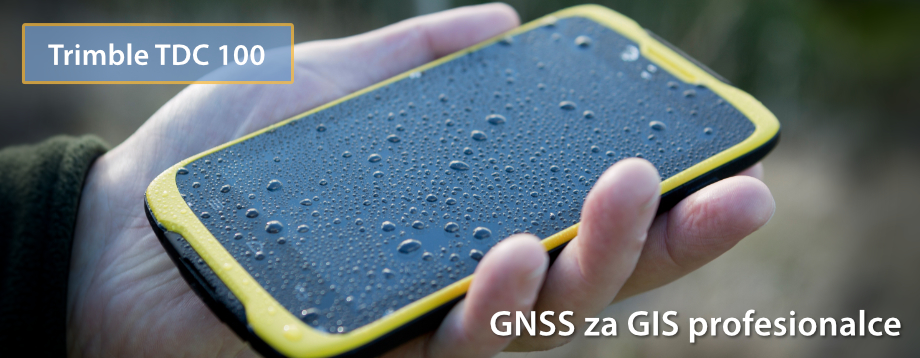 Trimble TDC100 - Novi GNSS za GIS profesionalce