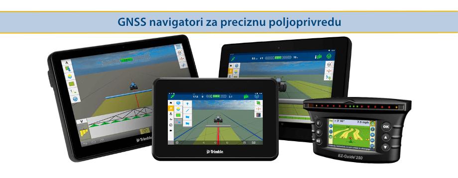 Trimble GNSS  navigatori za preciznu poljoprivredu