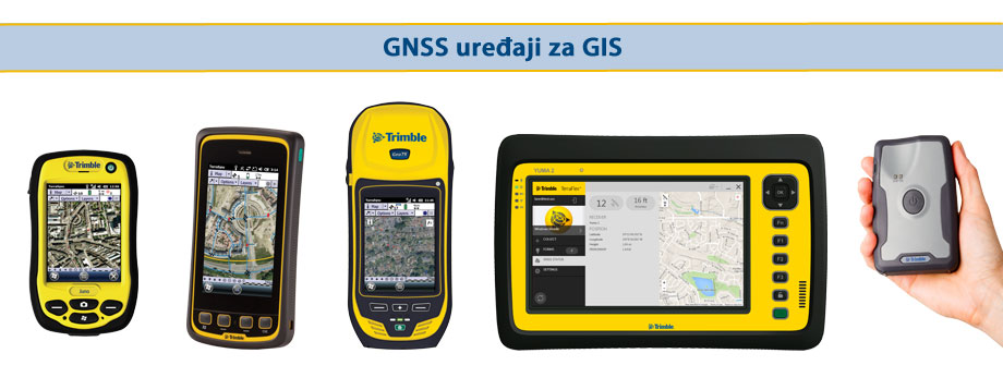Trimble GNSS uređaji za GIS