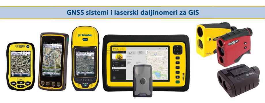 Trimble GNSS uređaji za GIS i ručni laserski daljinomeri