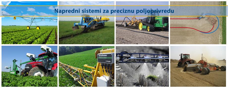 Napredni sistemi za preciznu poljoprivredu